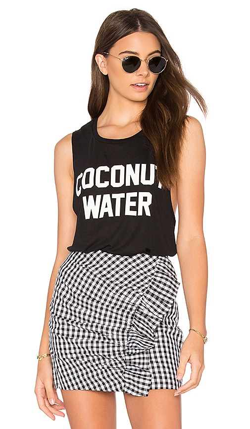 Private Party Coconut Water Tank in Black