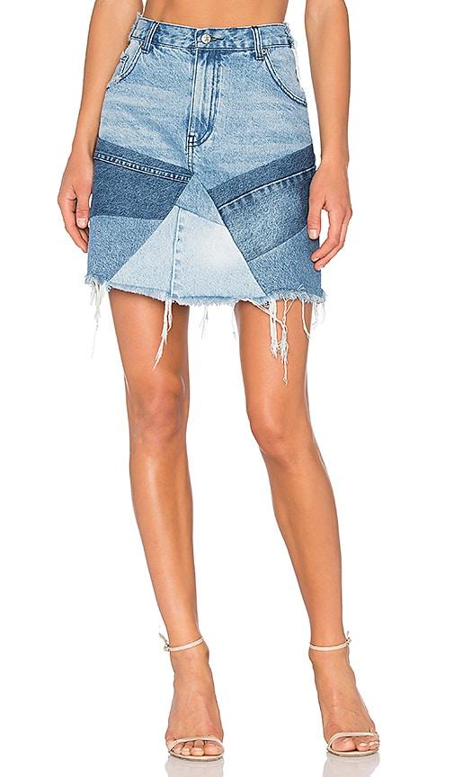 Patch Mini Skirt