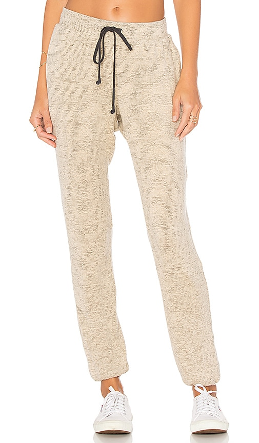 Project Social T Cozy Pant in Beige