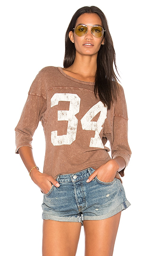 Project Social T 34 Tee in Brown