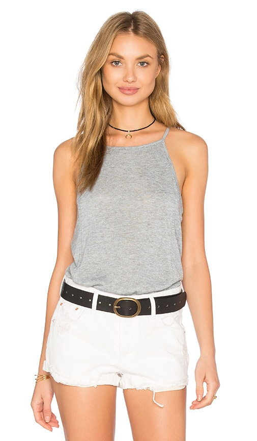 Project Social T Sydney Shirttail Tank in Gray