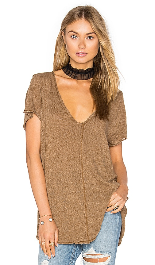 Project Social T Wearever Tee in Brown