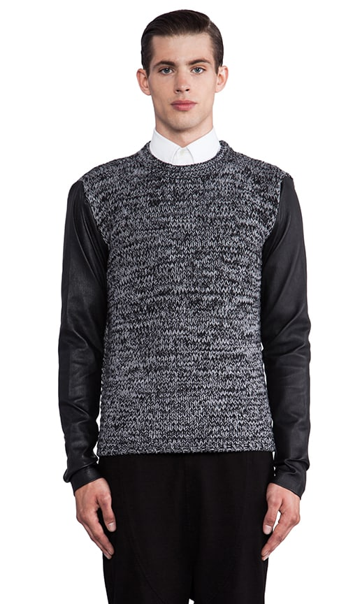 Contrast Sleeve Pullover