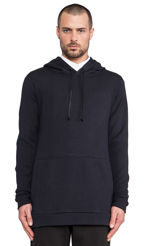 Raglan Pullover Hood w/side Zip