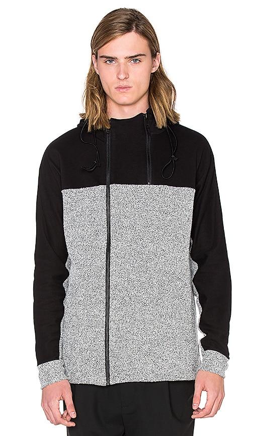 Public School Anorak Sweatshirt in Heather Grey