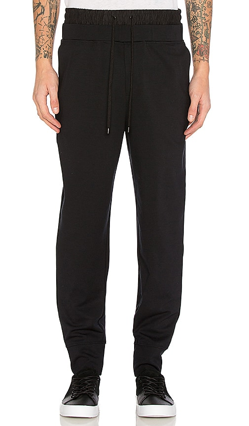 Public School Fjorke Sweatpant in Black