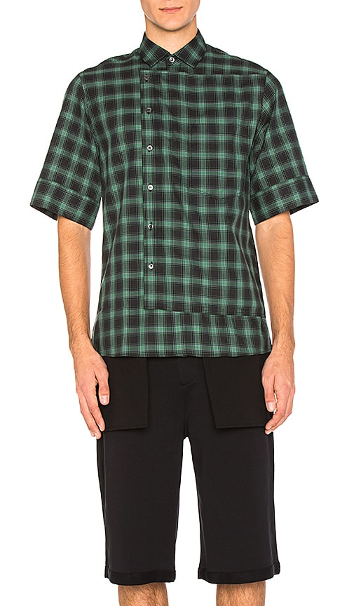 Public School Arment Shirt in Green