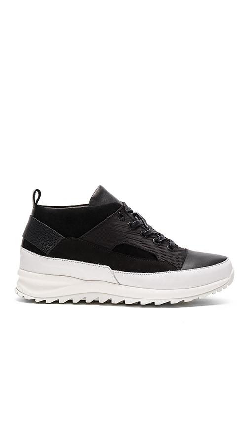Public School Hiker Sneaker Mid in Black