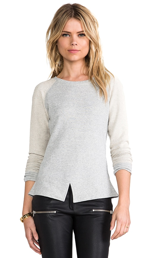 Split Hem Sweatshirt