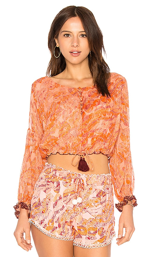 Poupette St Barth Bety Blouse in Pink