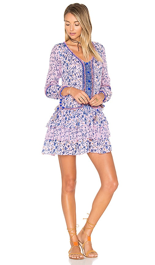 Poupette St Barth Bobo Mini Dress in Purple