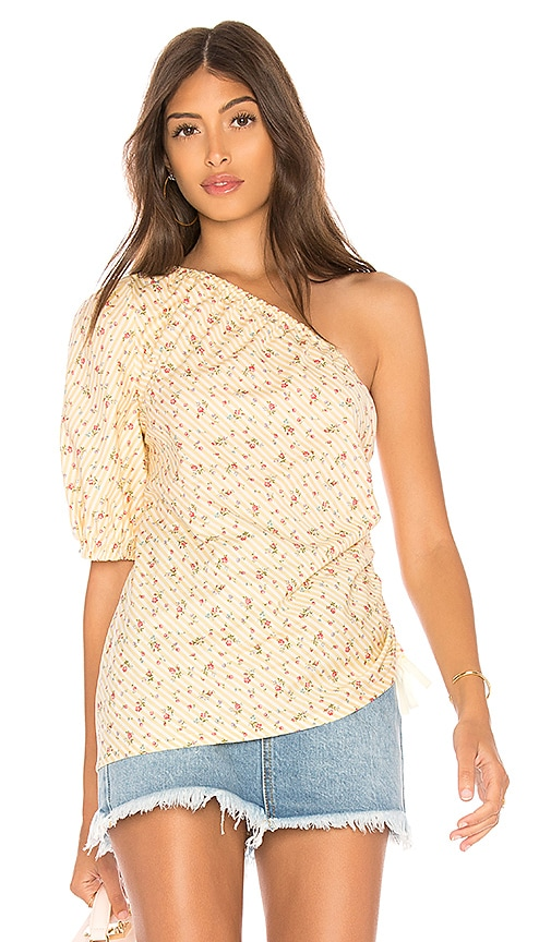 Petersyn Abigail Top in Yellow