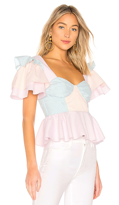 Petersyn Janis Top in Pink
