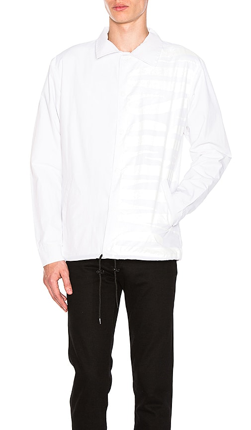 Paterson Big Coaches Jacket in White