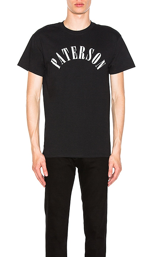 Paterson Abstract DNA Tee in Black