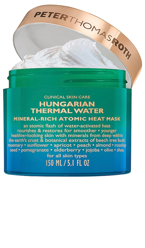Hungarian Thermal Water Mineral Rich Heat Mask
