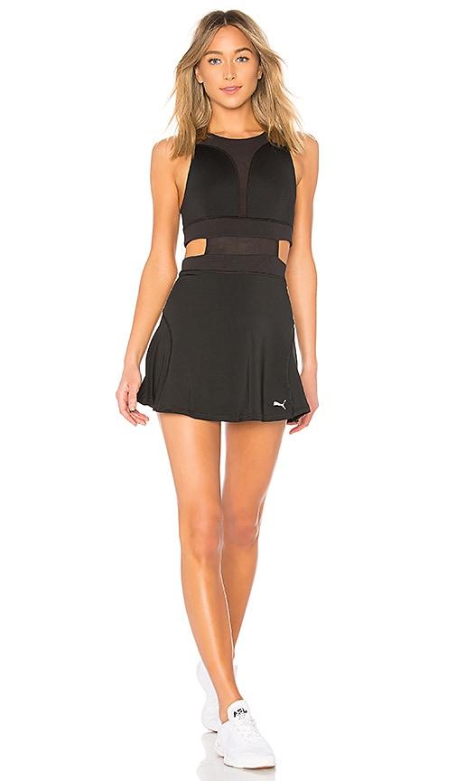 black puma dress