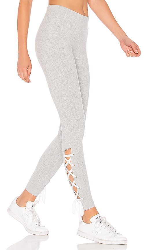 0c54ea12e5e483 Puma Lace Up Legging in Light Grey Heather