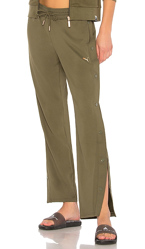 Puma Explosive Tear Away Pant in Olive