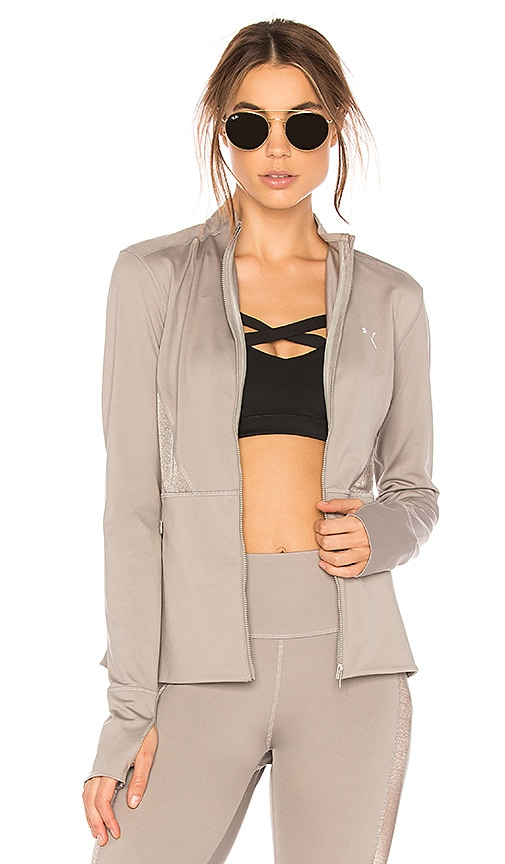 Puma Powerlux Jacket in Gray