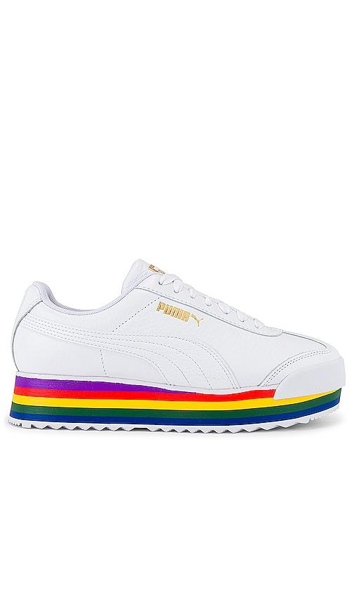 Puma Roma Amor Rainbow Sneaker in Puma