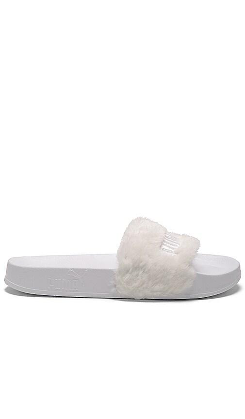 Puma x Rihanna Fenty Leadcat Sandal in White