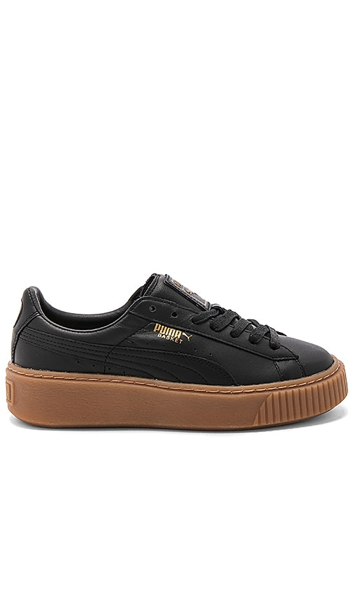Puma Basket Core Platform in Black