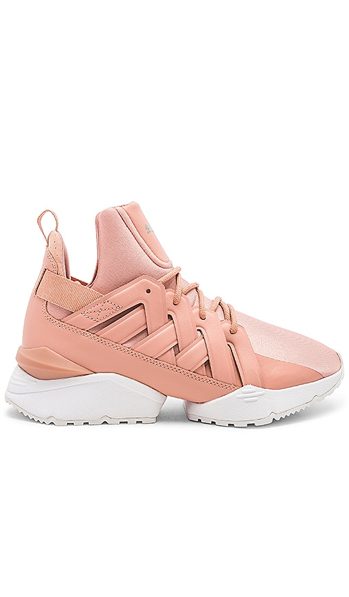 Puma Muse Echo Satin EP Sneaker in Pink