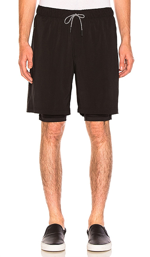 Puma Select x Stampd Shorts in Black