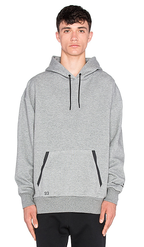 Puma Select x Stampd Oversize Hoody in Gray