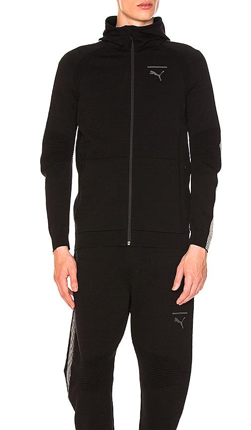 Puma Select EvoKNIT Move FZ Hoody in Black