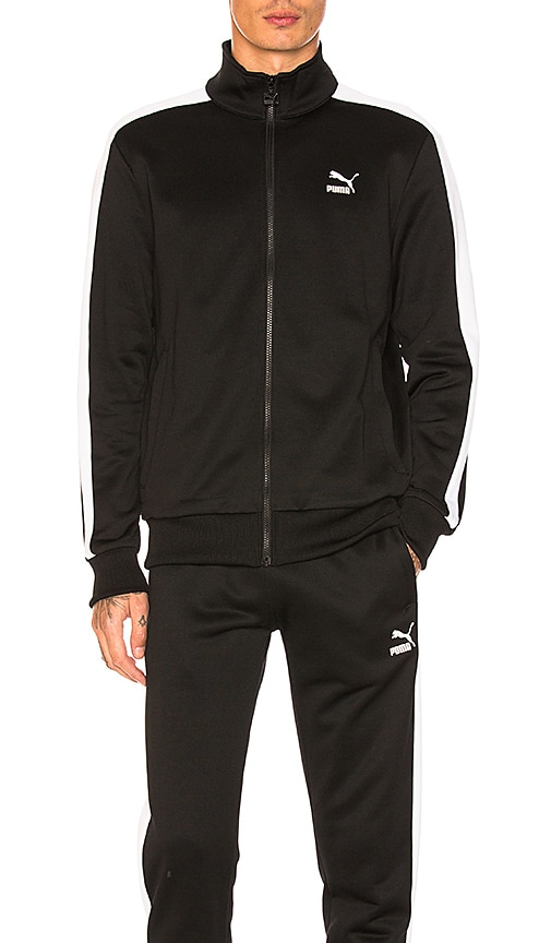 Puma Select Archive T7 Track Jacket in Black