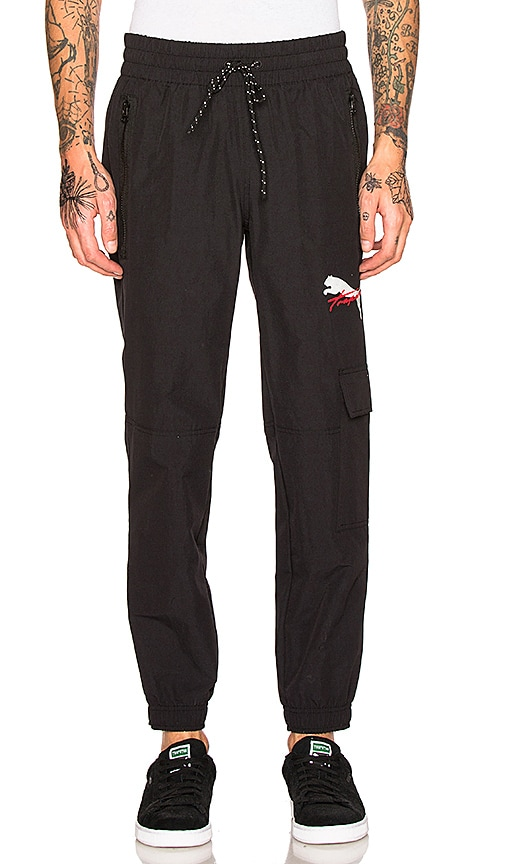 Puma Select x Trapstar Pants in Black