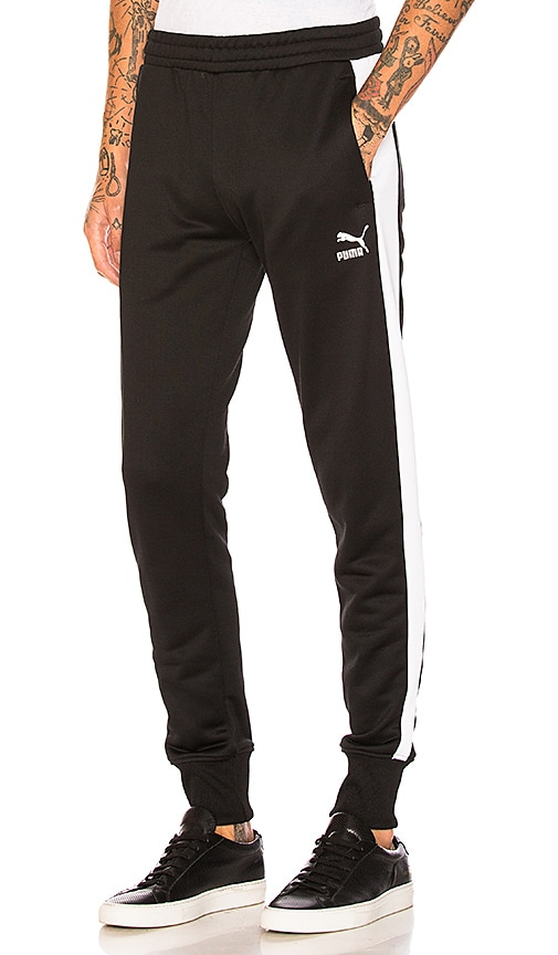 e0929784 Puma Select Archive T7 Track Pants in Puma Black | REVOLVE