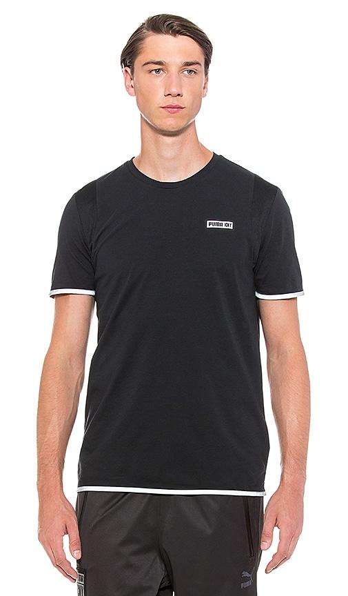 Puma Select x ICNY Logo Tee in Black