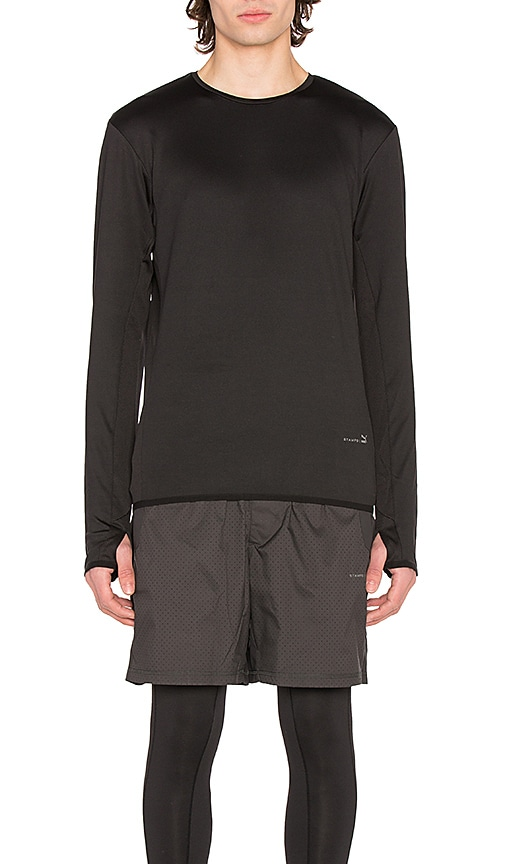 Puma Select x STAMPD Running Shirt in Black