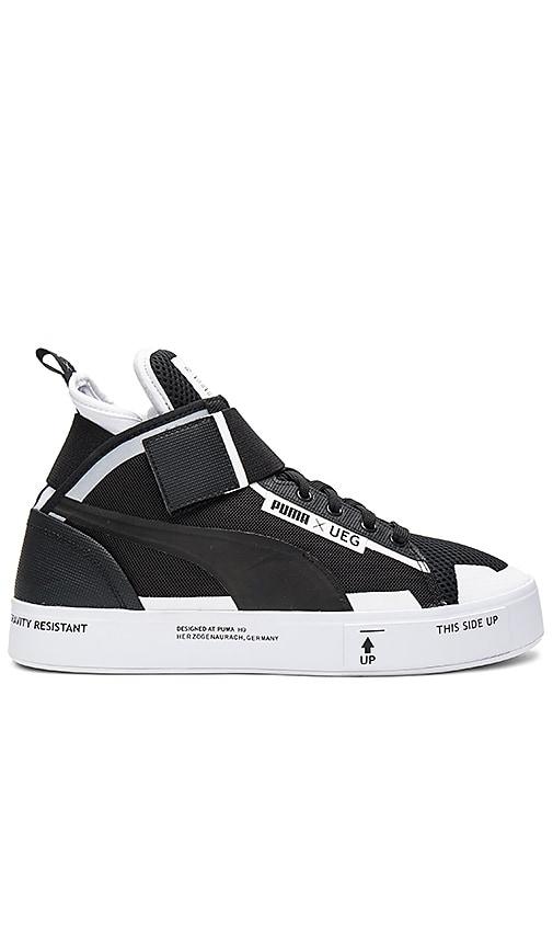 Puma x UEG Men Court black white