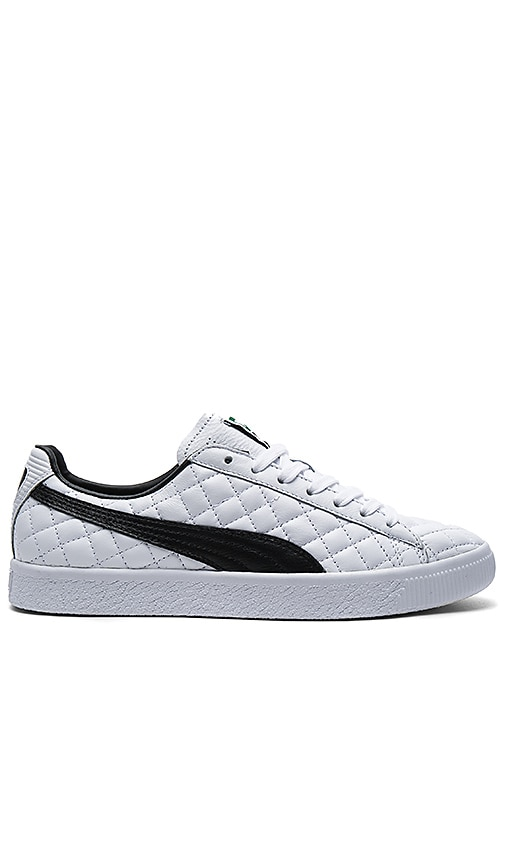 6e8b70ecdaf Puma Select Clyde Dressed Part Deux FM in Puma White   Puma Black in ...