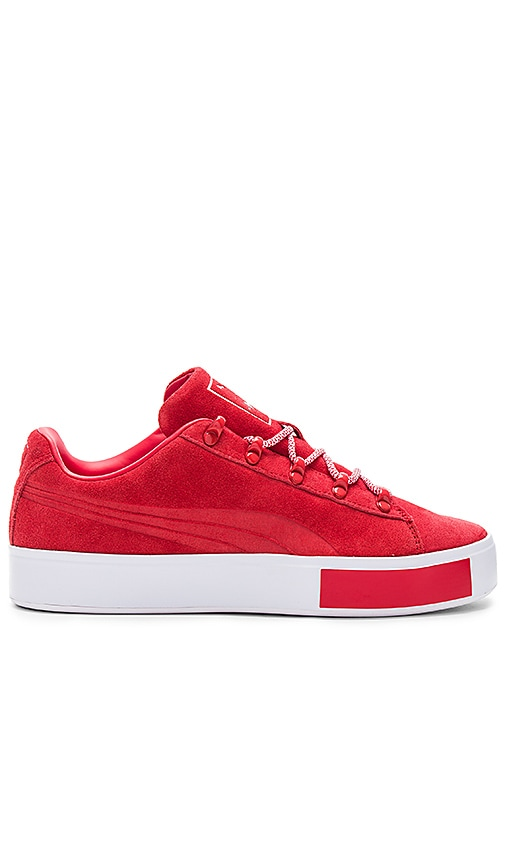 Puma Select x DP Court Platform L in Red