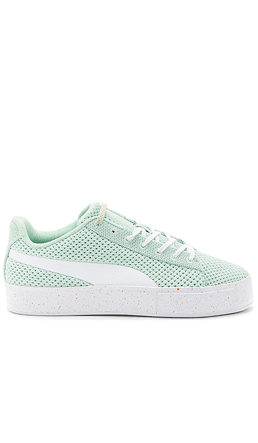 37ce2eed9f4 Puma Select x Daily Paper Platform Knit Splat in Gossamer Green ...