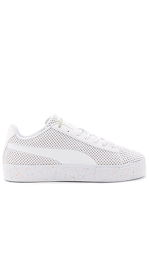 Puma Select x Daily Paper Platform Knit Splat in White