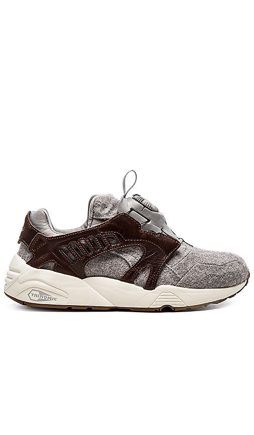 PUMA Disc Blaze Felt POTTING SOIL Brown Sneaker/Scarpe