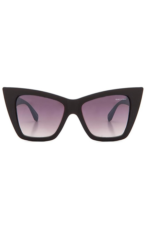 69f8082886 Quay x Shay Mitchell Vesper Sunglasses in Black