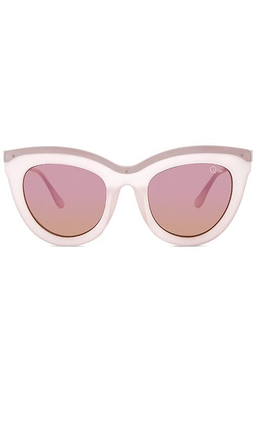 Quay Eclipse Sunglasses in Blush