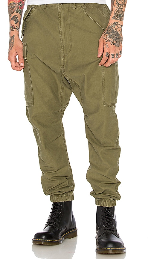 R13 Surplus Military Cargo Pants in Army