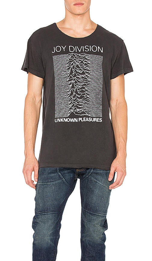 R13 Joy Division Lukas Tee in Charcoal