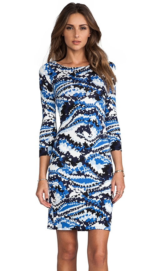 Jersey 3/4 Sleeve Bianca Dress
