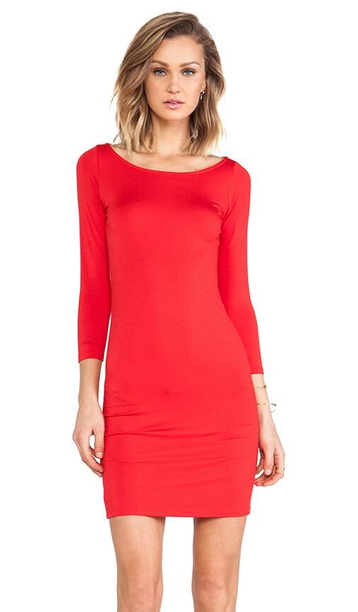 Jersey 3/4 Sleeve Bianca Dress