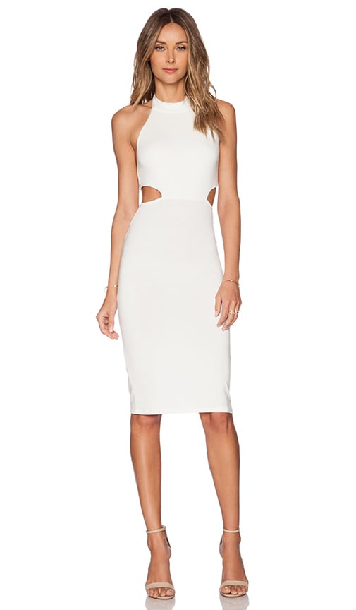 Rachel Pally x REVOLVE Cut Out Midi Dress in Ivory