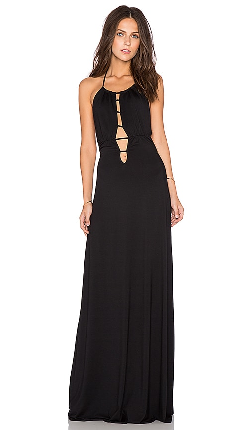 x REVOLVE Cutout Front Halter Dress